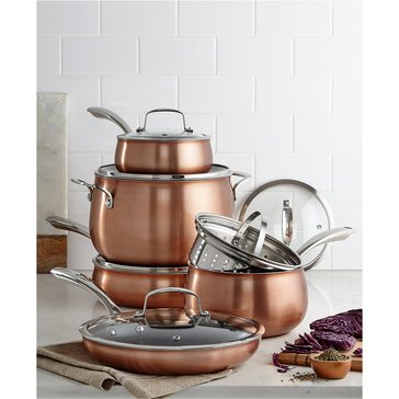 Belgique Aluminum 11-Piece Cookware Set