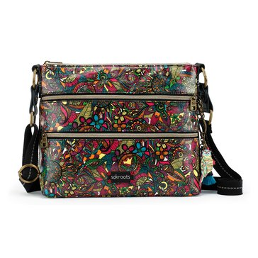 Sakroots Basic Crossbody Rainbow Spirit Desert