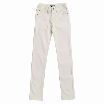 YMI Big Girls' Hyperstretch Skinny Pant, Pearl
