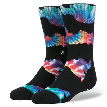 Stance Little Boys' Camo Trip Crew Socks, Size 2.5-5