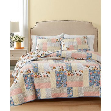Martha Stewart Collection Fair Breeze Quilt - King