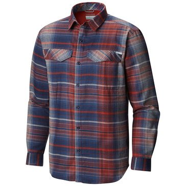 Columbia Men's Silver Ridge Flannel Ombre Plaid