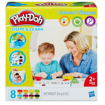 Play-Doh Colors & Shapes