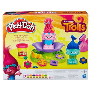 Play-Doh Trolls Press N' Style Salon