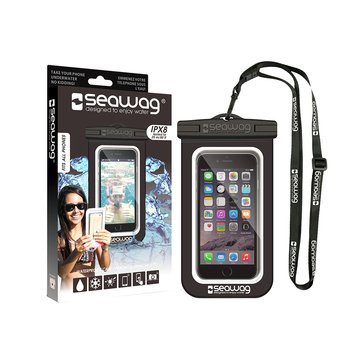 Seawag Waterproof Case for Phone-Black/White