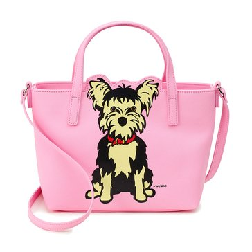 Marc Tetro Saffiano Mini Cutout Crossbody Yorkie