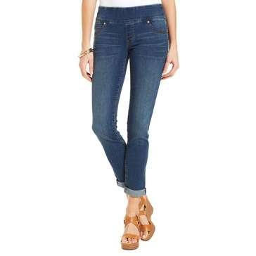 Style & Co Women's Pullover Denim Jeggings in Quincy Wash