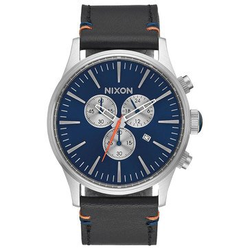 Nixon Unisex Time Teller Watch A045-1258, Blue Sunray/ Stainless Steel 37mm