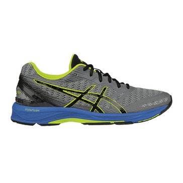 Asics Gel-DS Trainer 22 Men's Running Shoe Carbon/ Black/ Safety Yellow