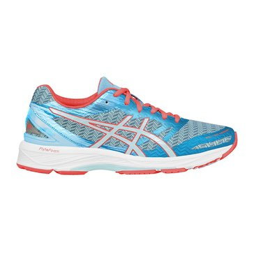 Asics Gel-DS Trainer 22 Women's Running Shoe Aquamarine/ Aqua Splash/ Flash Coral
