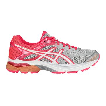 Asics Gel-Flux 4 Women's Running Shoe / White/ Diva Pink
