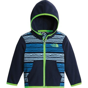 The North Face Baby Boys' Glacier Full Zip Hoodie, Blue Lake