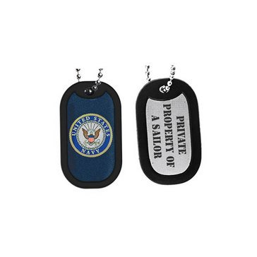 Sparta USN Private Property of A Sailor Dog Tag