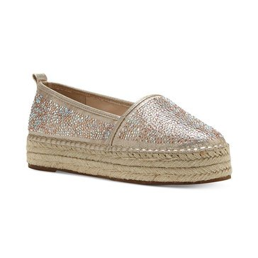 INC International Concepts Caleyy2 Women's Espadrille Champagne