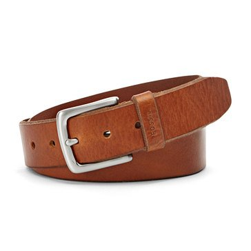 Fossil Joe Jean Belt- Cognac