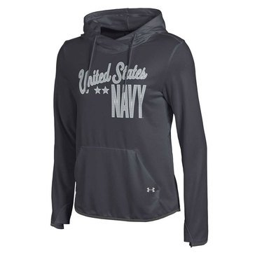 Under Arnour Women's USN French Terry Pullover Hoodie