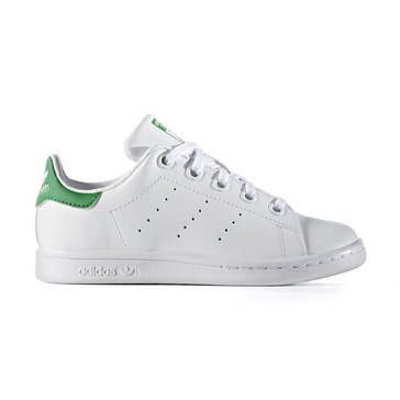 Adidas Stan Smith Boys' Tennis Shoe White/Green