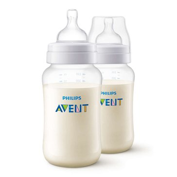 Philips Avent Anti-Colic 11oz Baby Bottles, BPA-Free, 2-Pack