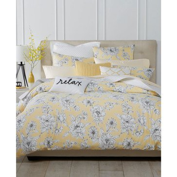 Charter Club Damask Garden Butter Comforter Set - King