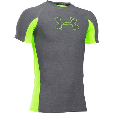 Under Armour Big Boys' Novelty Tee, Graphite