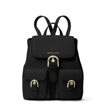 Michael Kors Cooper Small Flap Backpack Black