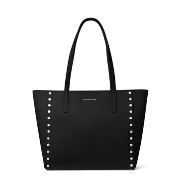 Michael Kors Rivington Stud Large Tote Black