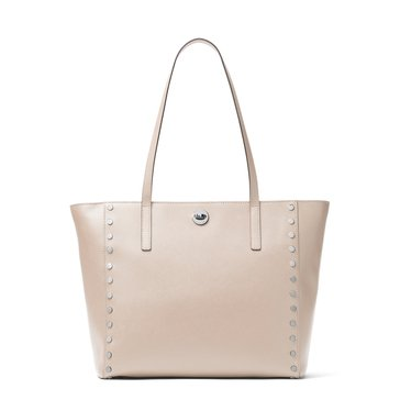 Michael Kors Rivington Stud Large Tote Cement