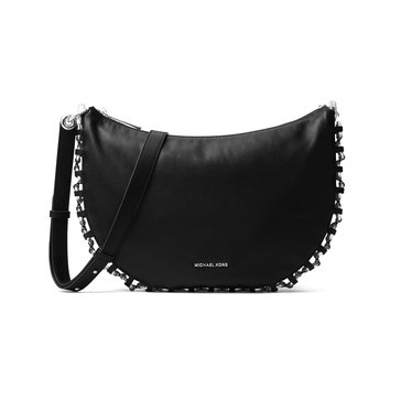 Michael Kors Piper Medium Messenger Black