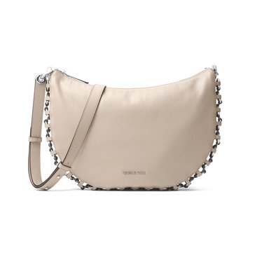 Michael Kors Piper Medium Messenger Cement