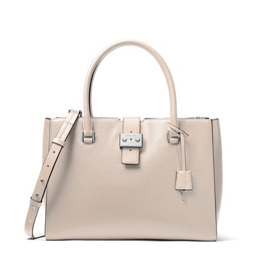 Michael Kors Bond Large Satchel Cement