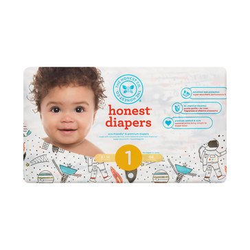 The Honest Company Diapers, Space Travel - Size 1, 44-Count