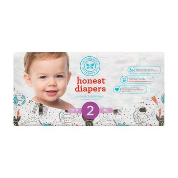 The Honest Company Diapers, Space Travel - Size 2, 40-Count