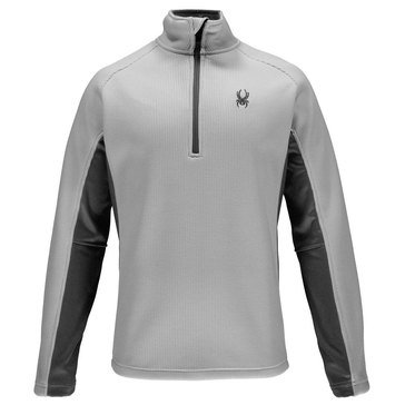 Spyder Men's Outbound Half Zip Core Sweater Cirrus