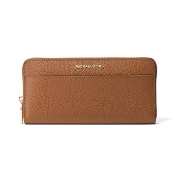 Michael Kors Mercer Pocket Zip Around Continental Wallet Luggage