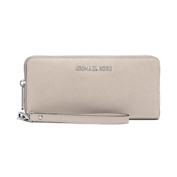 Michael Kors Jet Set Travel Continental Wallet Cement