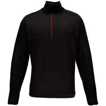 Spyder Men's Outbound Half Zip Core Sweater Black