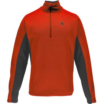 Spyder Men's Outbound Half Zip Core Sweater Rage