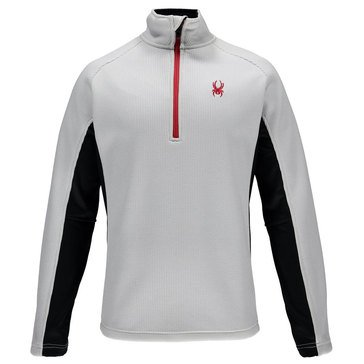 Spyder Men's Outbound Half Zip Core Sweater White