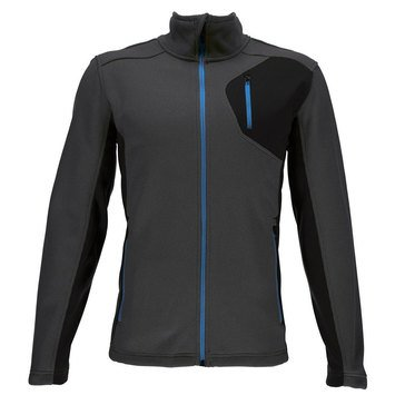 Spyder Bandit Full Stryke Fleece Jacket Polar Grey
