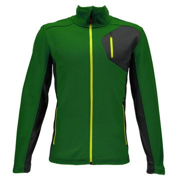 Spyder Bandit Full Stryke Fleece Jacket Green