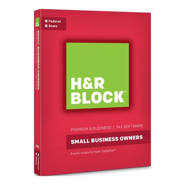 H & R Block Tax Software 2016 Premium Business