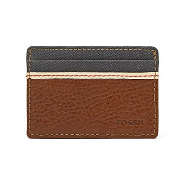 Fossil Wallet - Elgin ID Credit Card Front Pocket - Brown