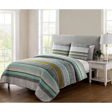 Benton 3-Piece Quilt Set - Queen