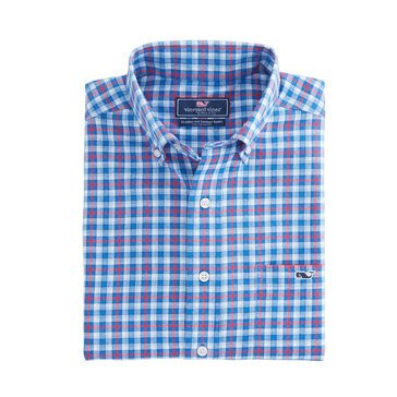 Vineyard Vines Men's Wainscott Plaid Classic Tucker Sportshirt