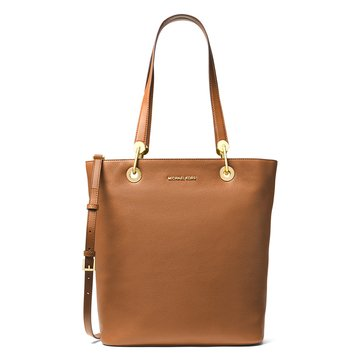 Michael Kors Raven Large North South Top Zip Tote Luggage