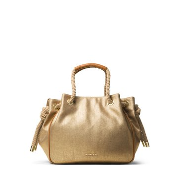 Michael Kors Dalia Large Shoulder Tote Gold