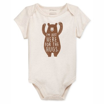 First Impressions Newborn Bodysuit, Bear Hug
