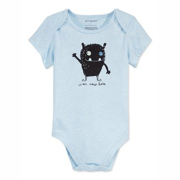 First Impressions Baby Boys' Bodysuit, I'm New Here