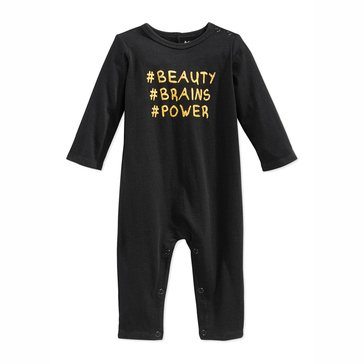 First Impressions Baby Girls' Bodysuit, Beauty Brains