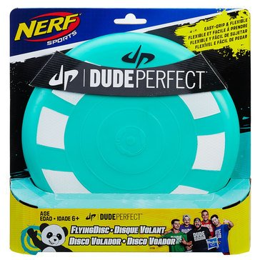 NERF Dude Perfect Flying Disc